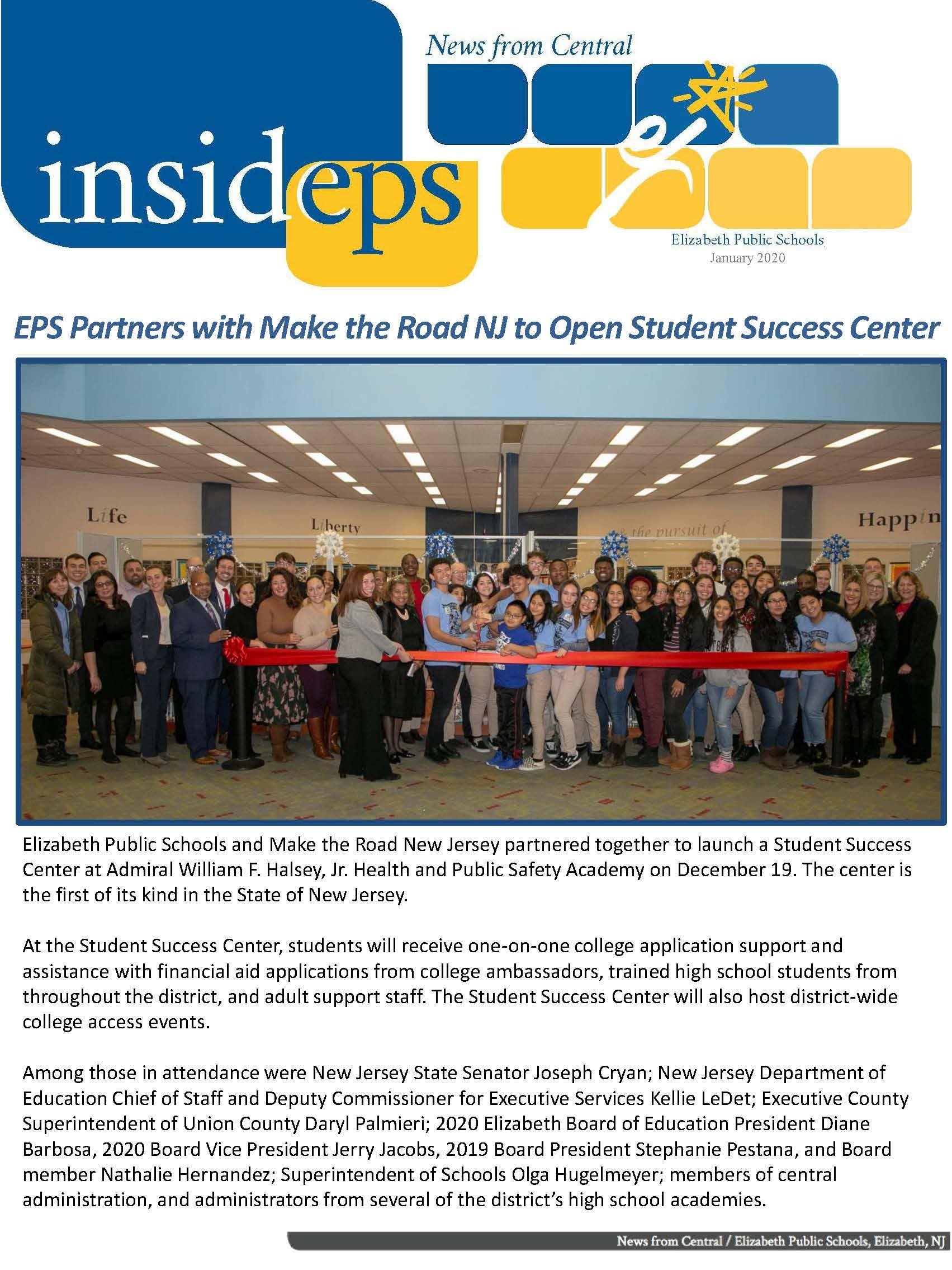 InsideEPS January Newsletter