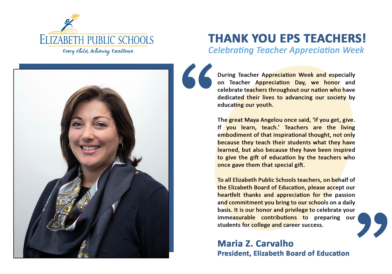 National Teacher Appreciation Week / Overview