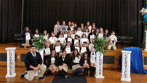 National Junior Honor Society Induction