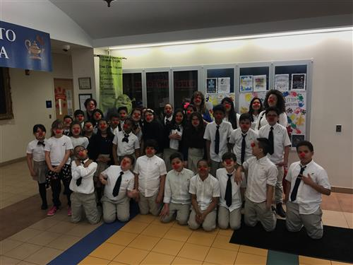 School No. 21 celebrated Red Nose Day
