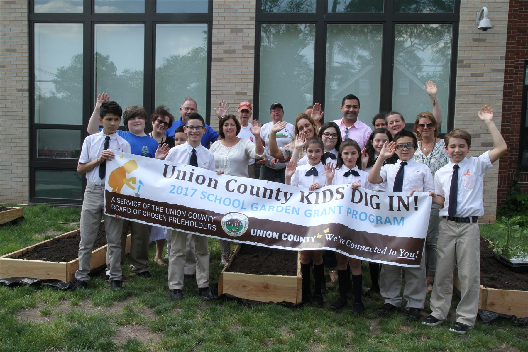 """Union County Kids Dig In"" @ School 21"
