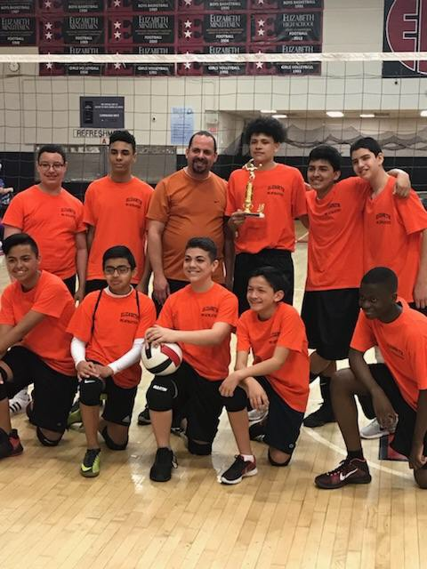 Boys MS Volleyball Tournmanet - Elizabeth Central Captures Championship