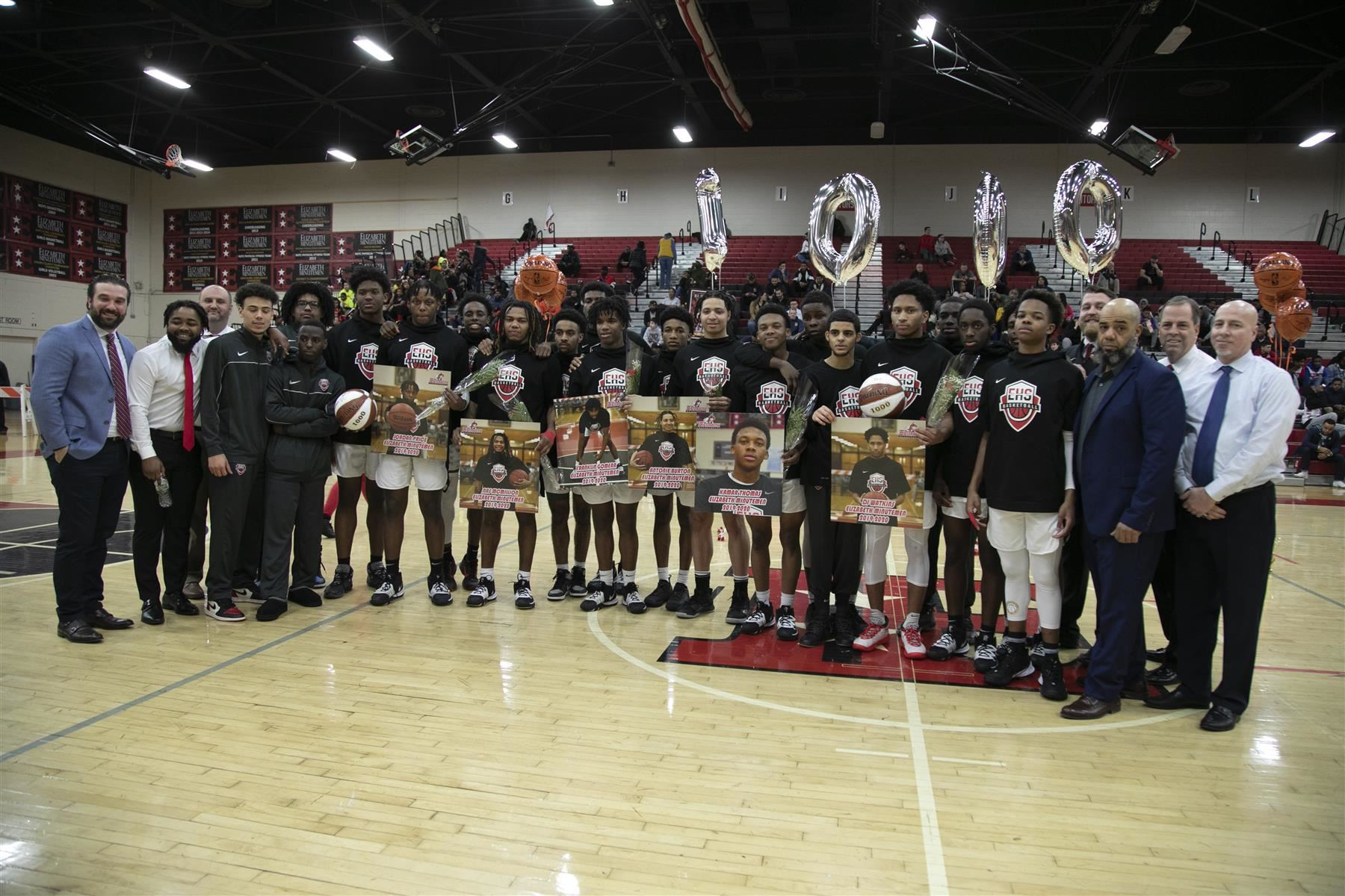 Senior Night @ the Dunn Sport Center