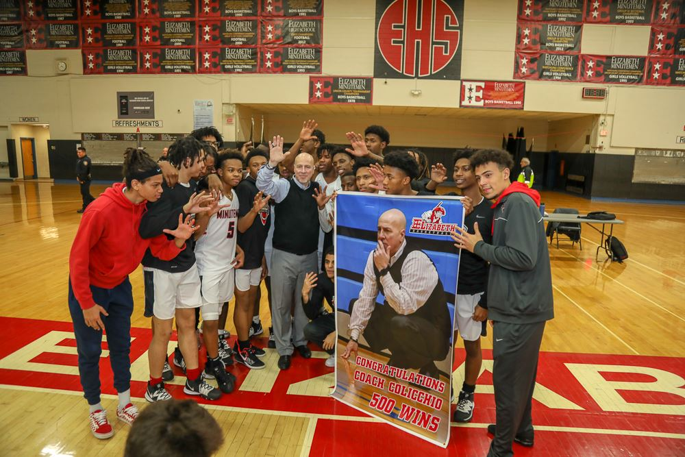 Price is right as No. 5 Elizabeth tops Kennedy for coach's 500th