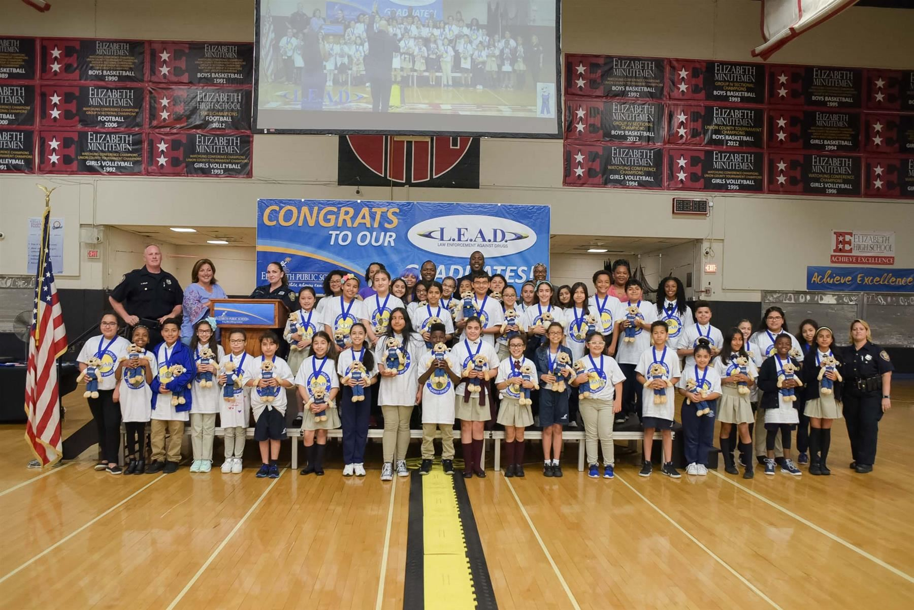 Law Enforcement Against Drugs (L.E.A.D.) Class of 2018 Graduation Ceremonies