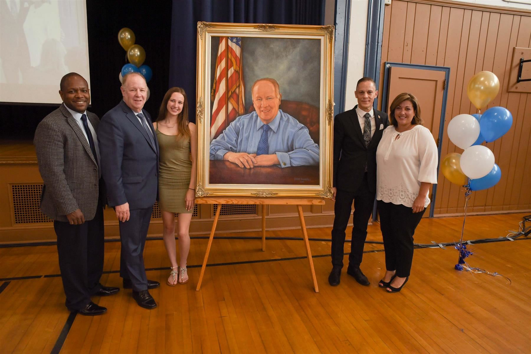Portrait Unveiling Ceremony for City of Elizabeth Mayor J. Christian Bollwage