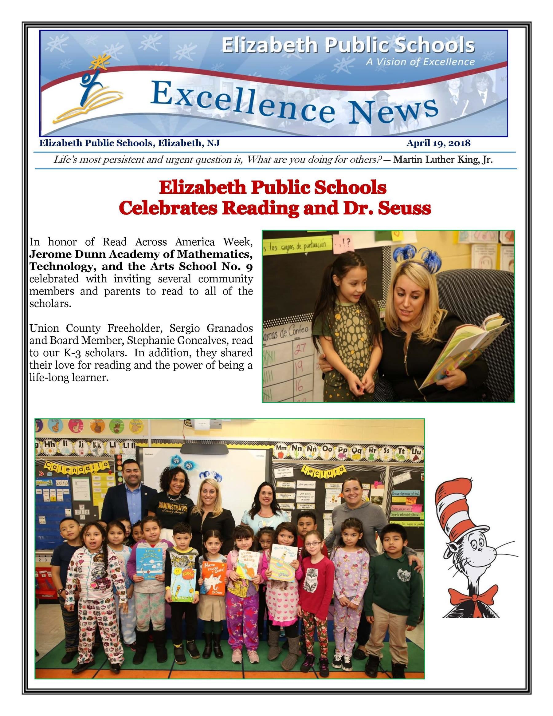 Excellence News April