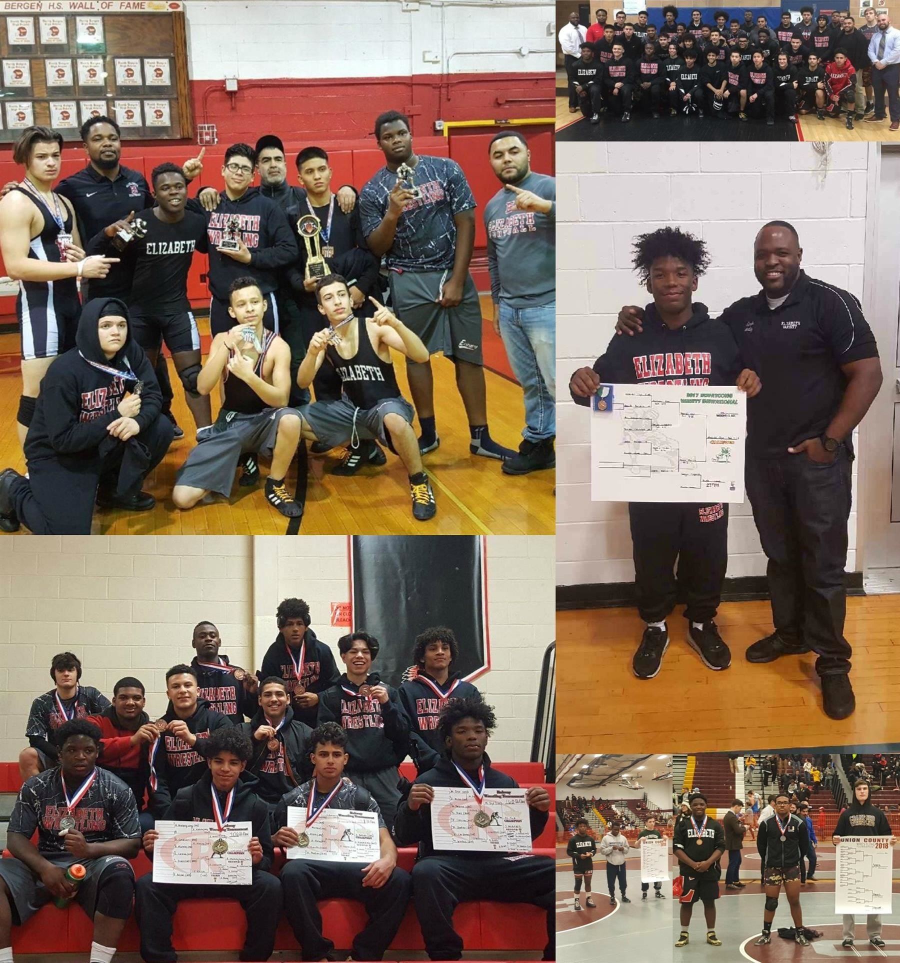 EHS WRESTLING ACHIEVEMENTS