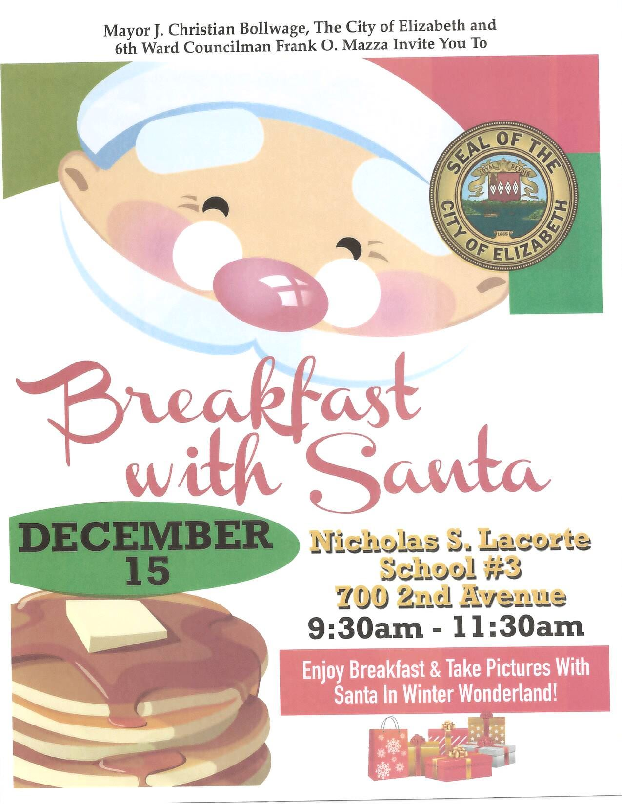 Breakfast with Santa at School 3