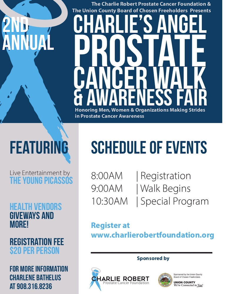 Charlie's Angel Prostate Cancer Walk & Awareness Fair 9-21-19