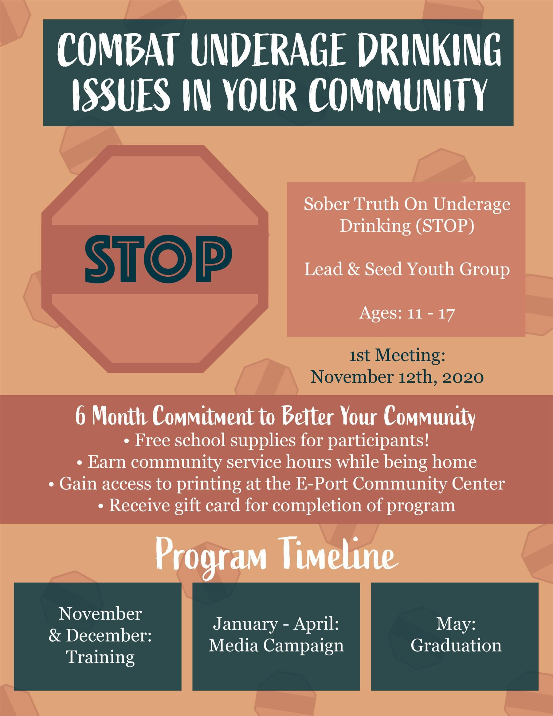 Combat Underage Drinking Issues In Your Community