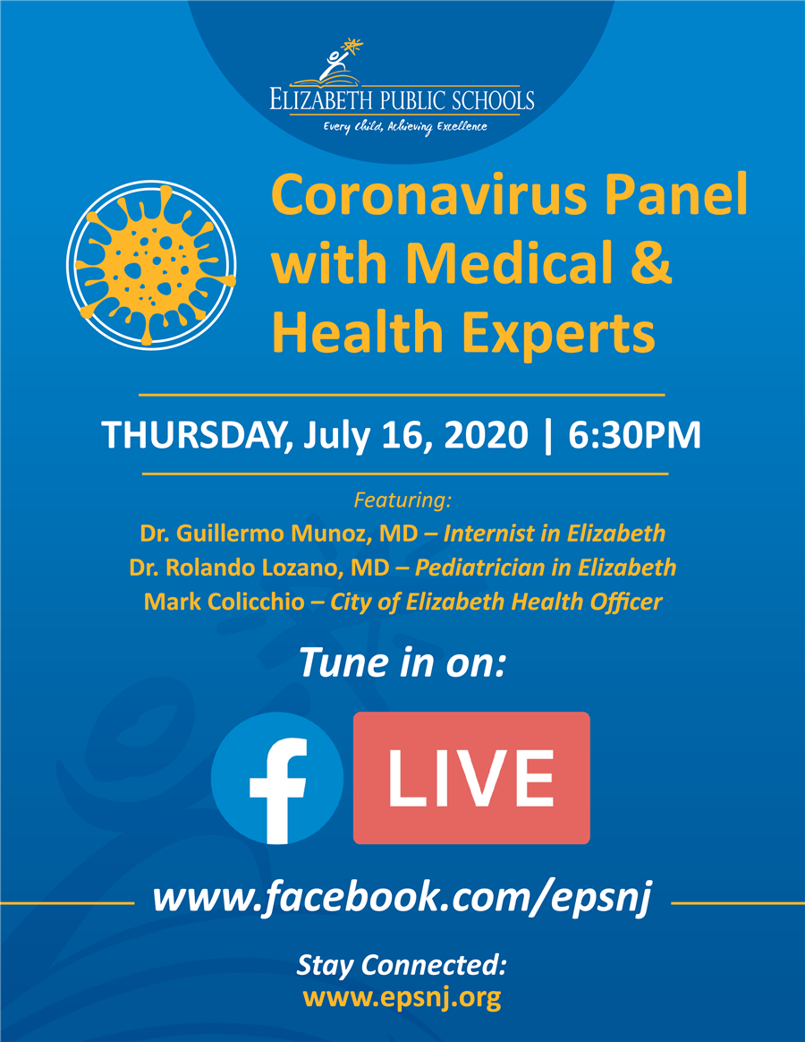 Coronavirus Panel with Medical & Health Experts
