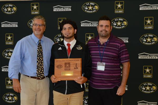 Congratulations to STEVENS CRUZ 2017 US Army All-American Marching Band Member