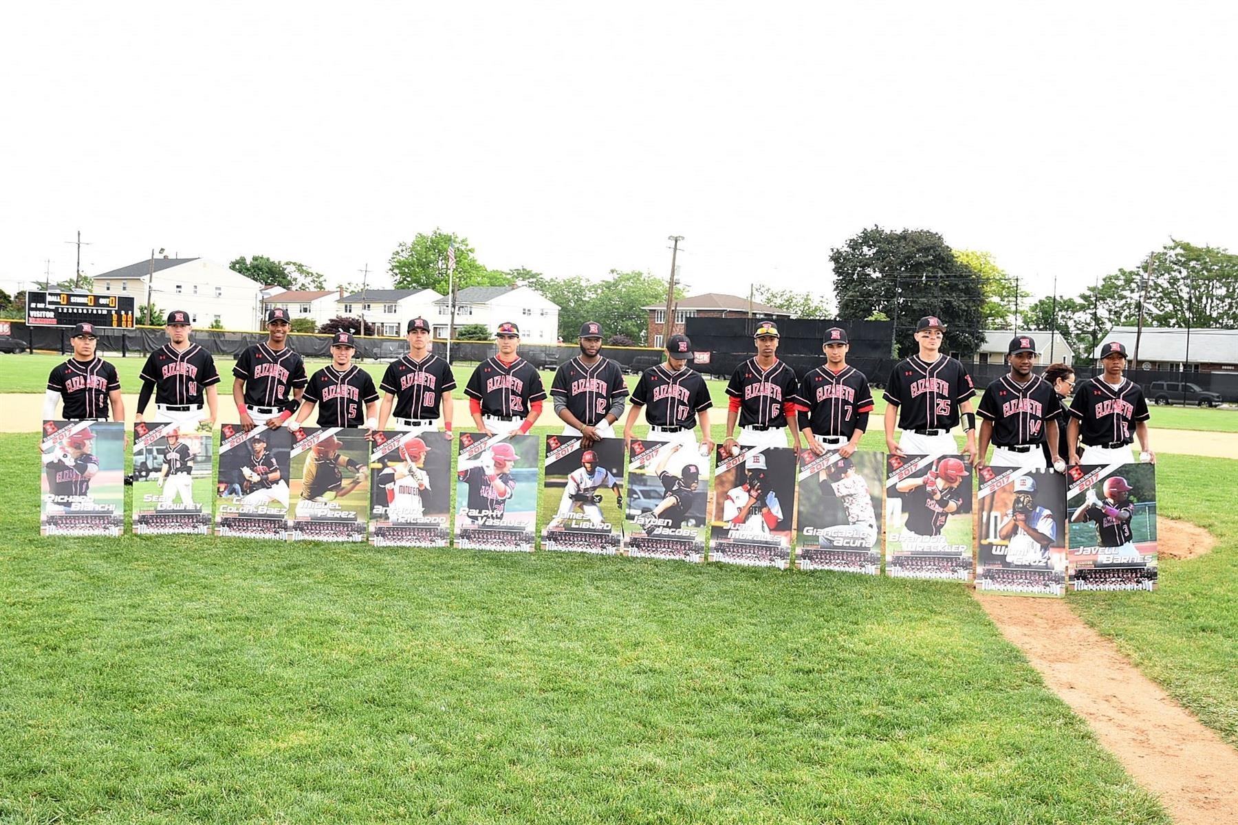 Minutemen Baseball Senior Day