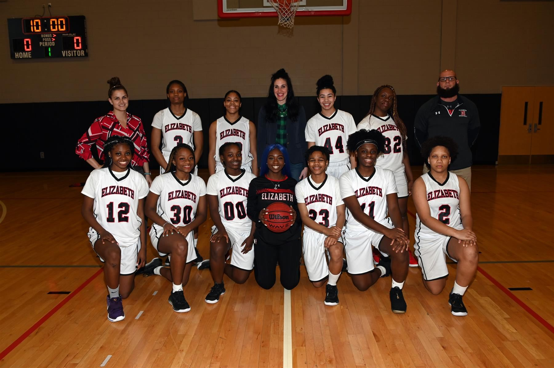 Girls Varsity Basketball Team Vs. Plainfield High School 2/4/2020