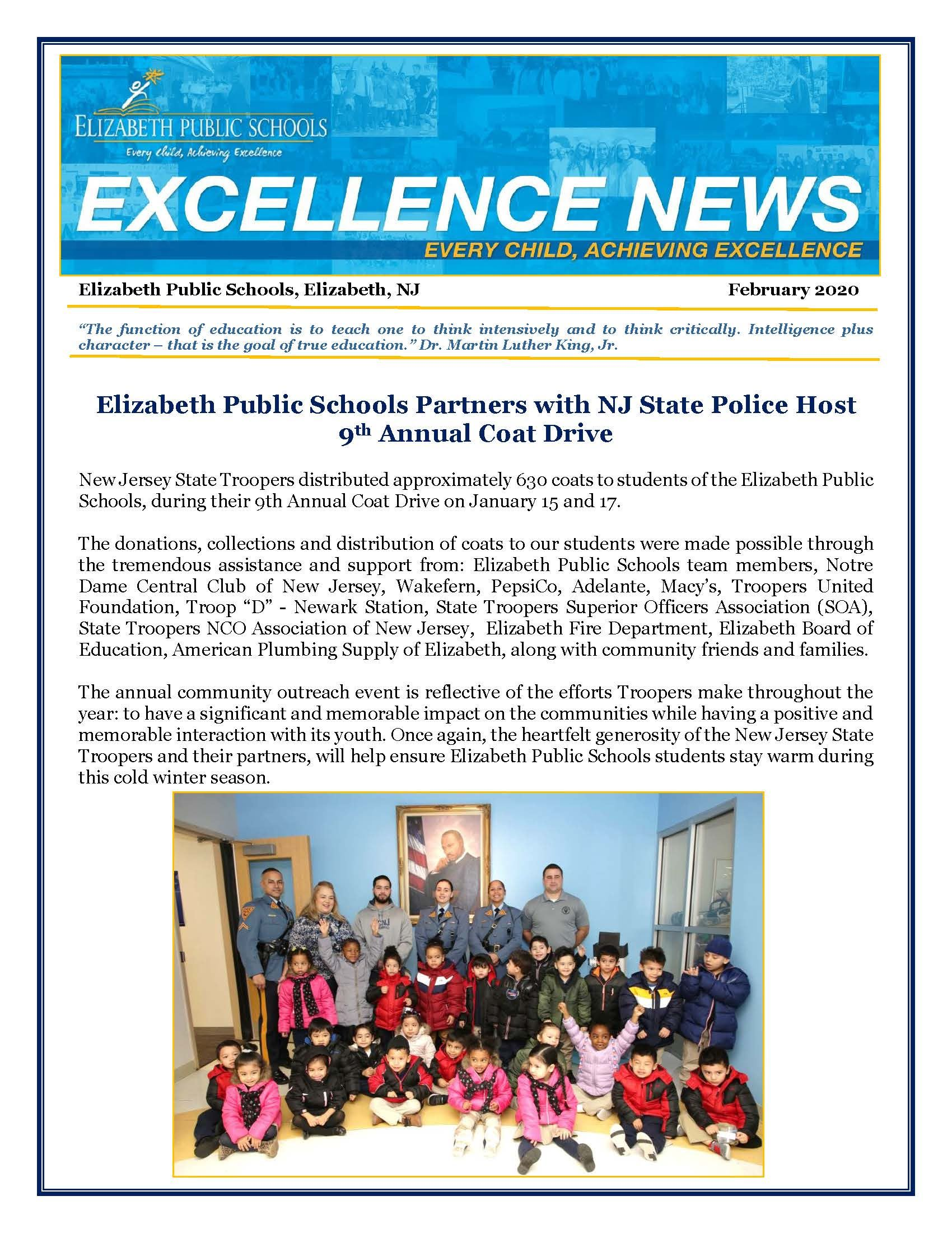 Excellence News February 2020