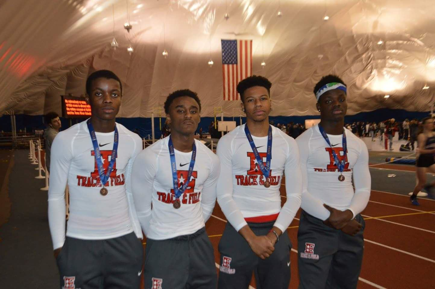 Congratulations To The Boys Indoor Track Team