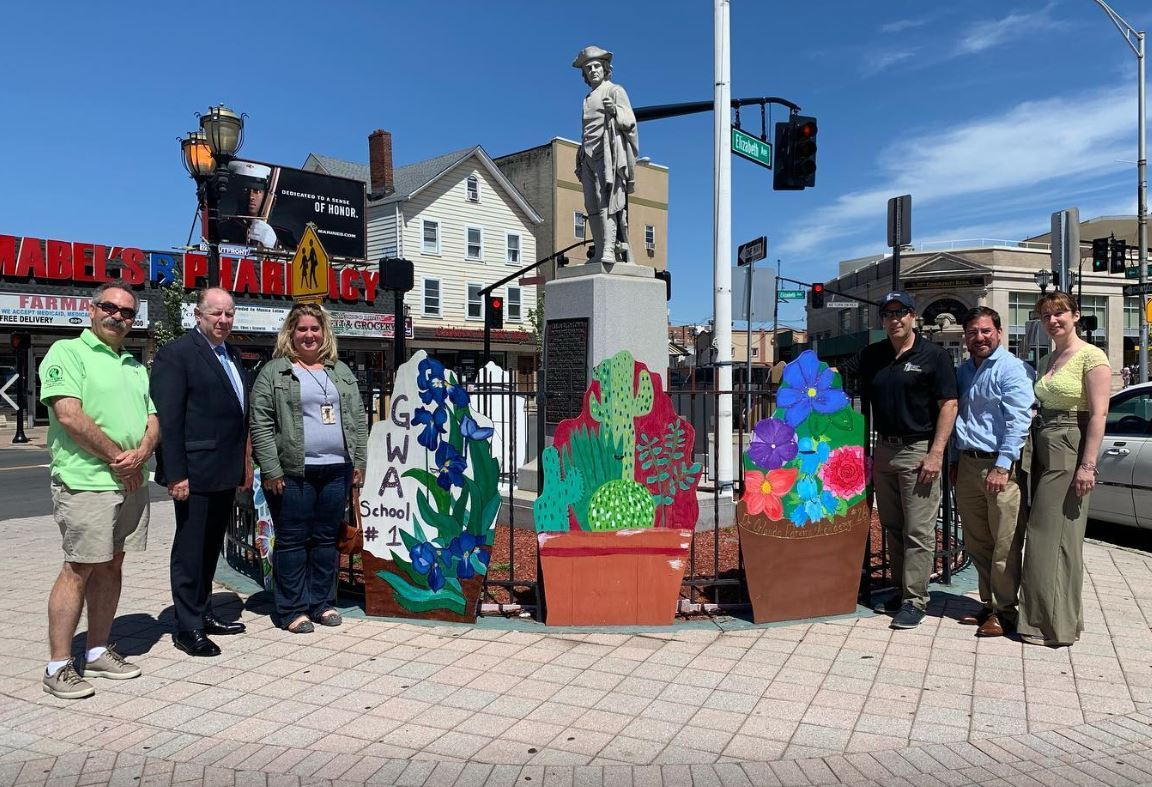 EAP's Spring Beautification Project Showcases District Art