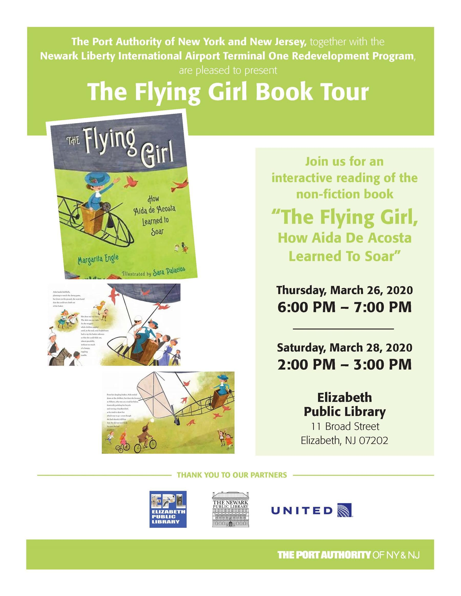 Flying Girl Book Tour