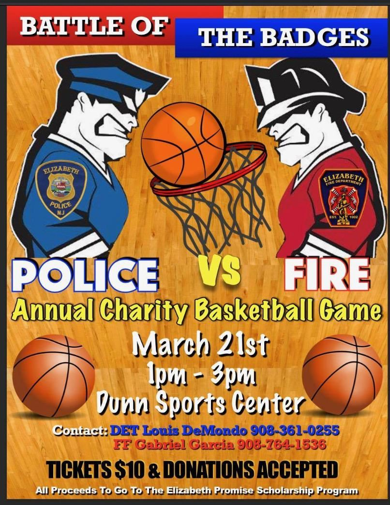Police Vs Fire Annual Charity Basketball Game