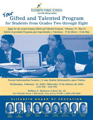 Your Gifted and Talented Program for Students from Grades Two through Eight