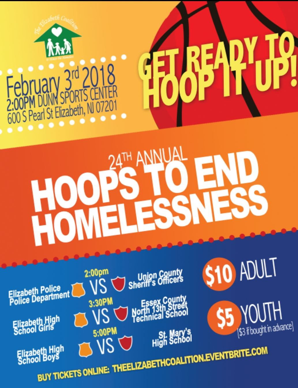 24th Annual Hoops to End Homelessness