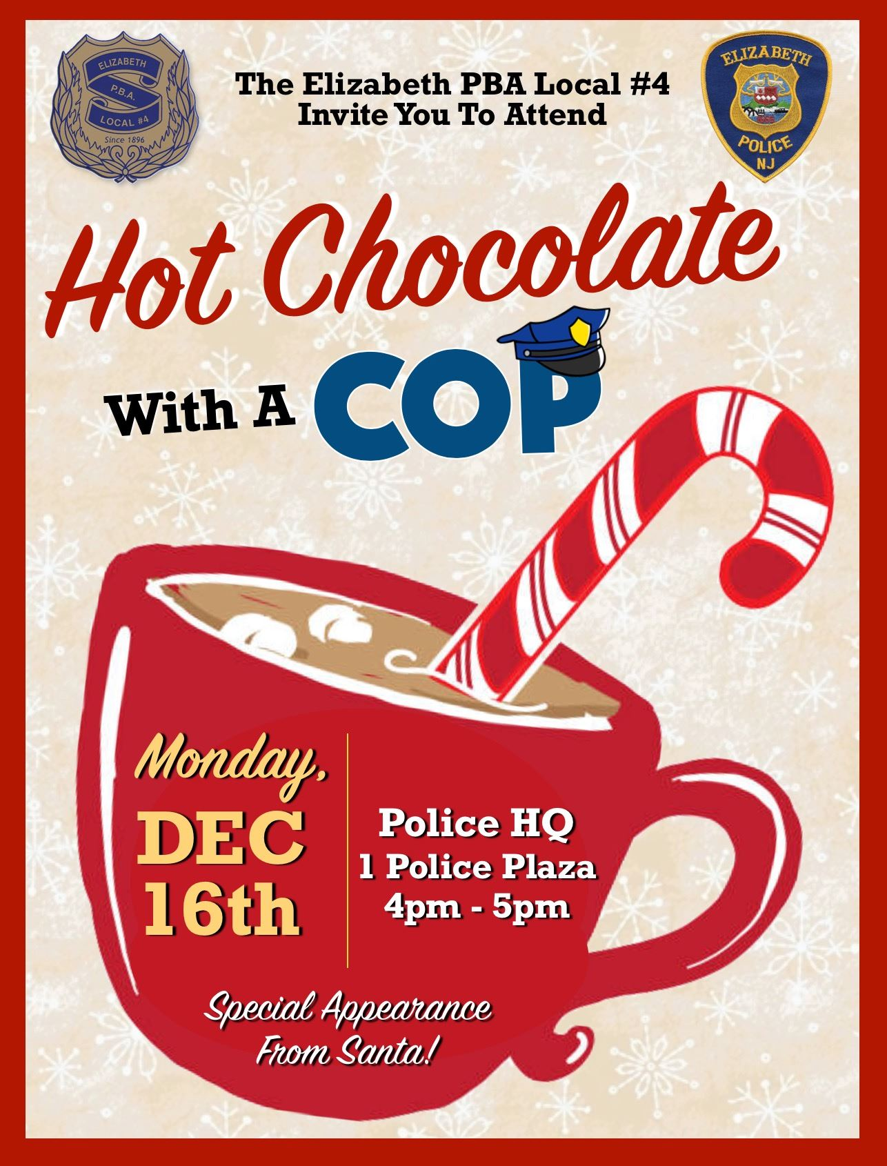 Hot Chocolate with a Cop