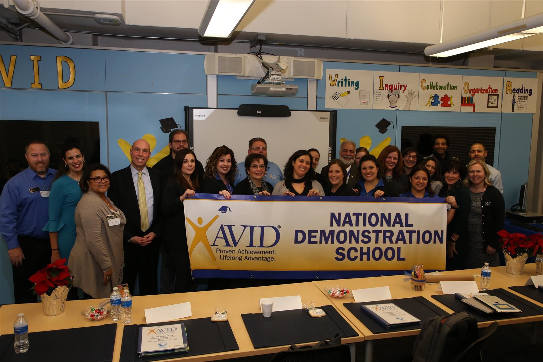 Elmora School No. 12 Becomes First Urban AVID National Demonstration School in NJ