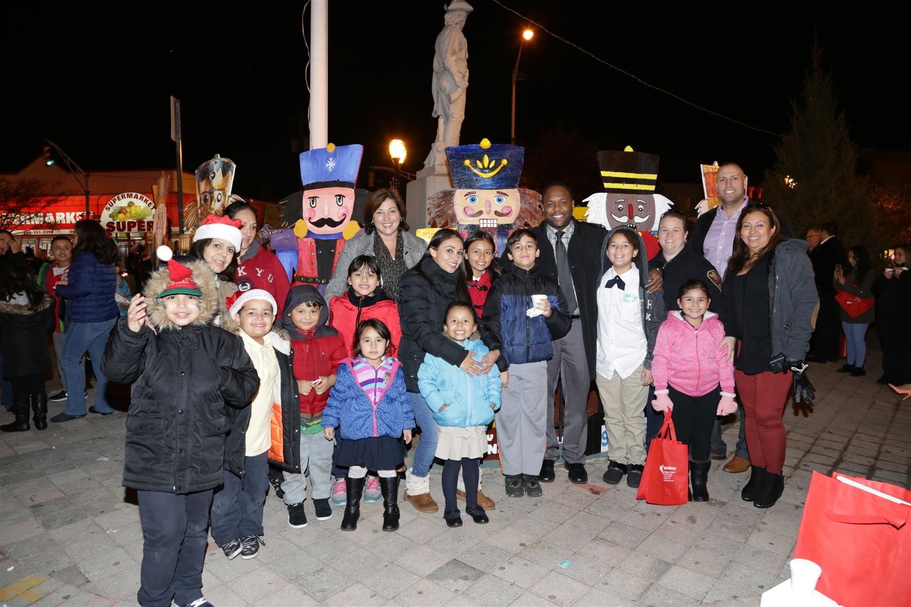 EPS Assists EAP to Spread Holiday Cheer at Elizabeth Tree Lighting and Toy Soldier Unveiling