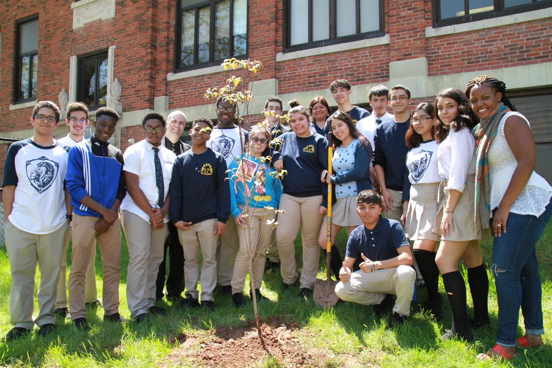 Arbor Day Tree Planting Ceremony