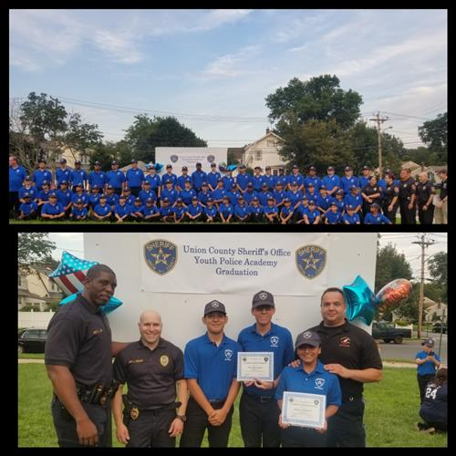 2017 UNION COUNTY SHERIFF'S YOUTH ACADEMY HAMILTON GRADUATES