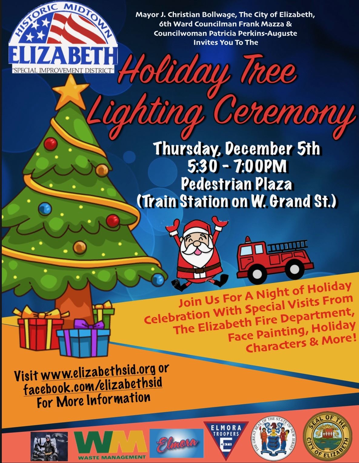 Holiday Tree Lighting Ceremony