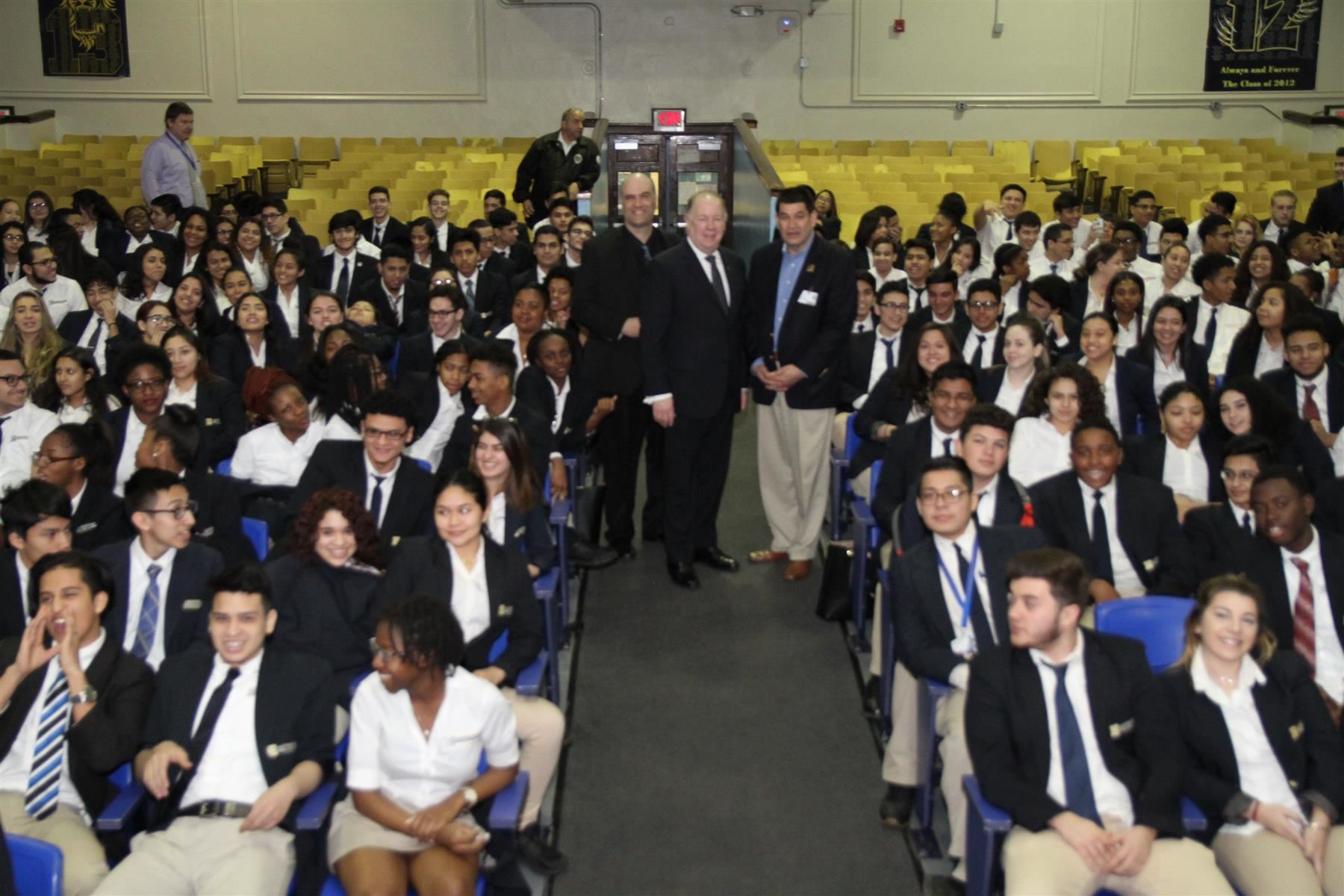 Mayor J. Christian Bollwage Visits AP Government & Politics Students
