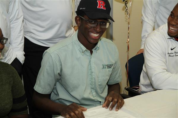 JaQuan Mial Accepts Athletic Scholarship to Rutgers University
