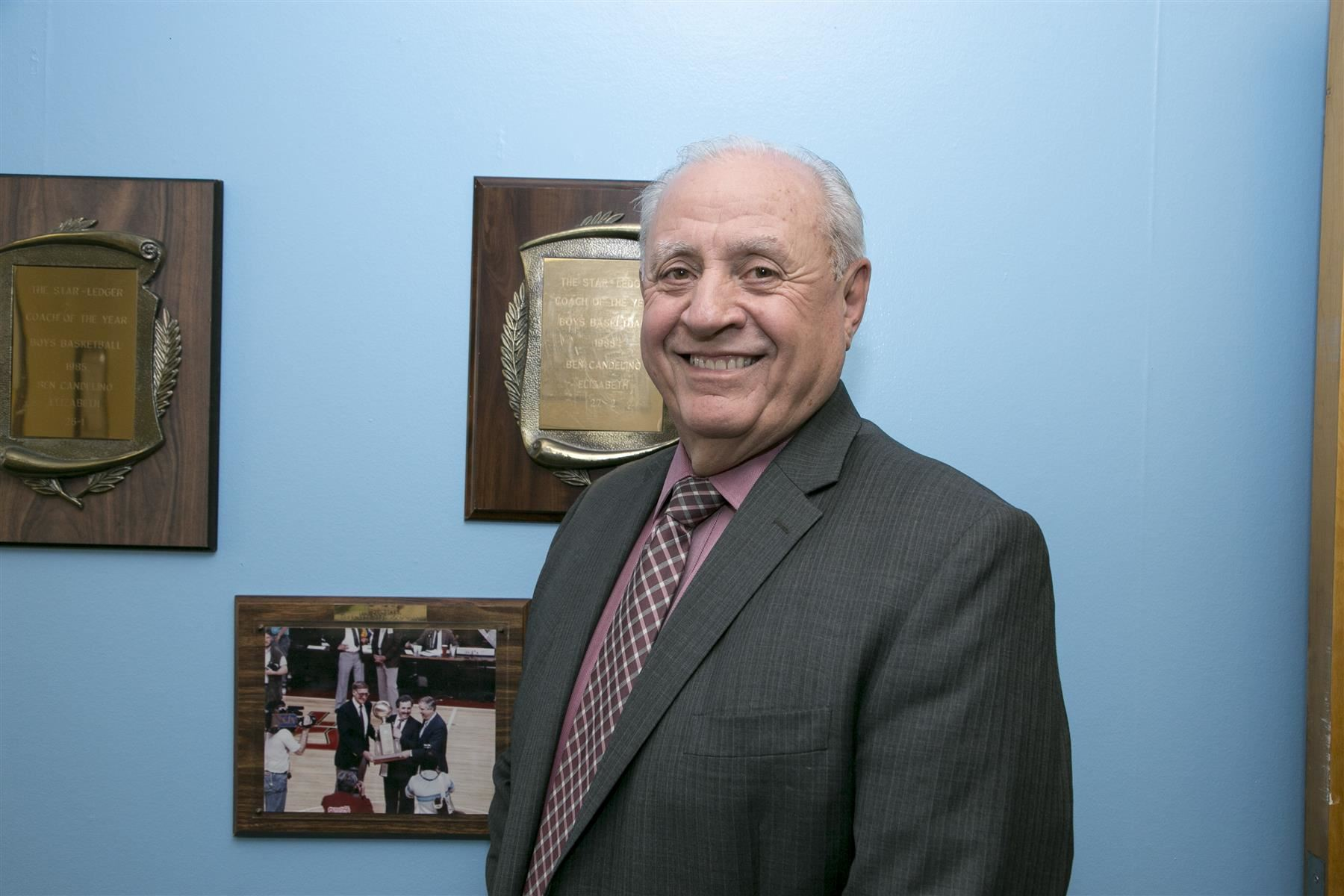 EPS AD Ben Candelino Inducted to NJSCA Hall of Fame