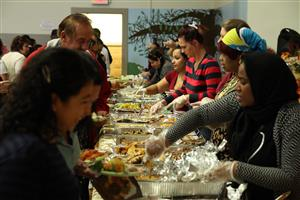 Mabel G. Holmes School No. 5 Annex B Hosts Thanksgiving Feast