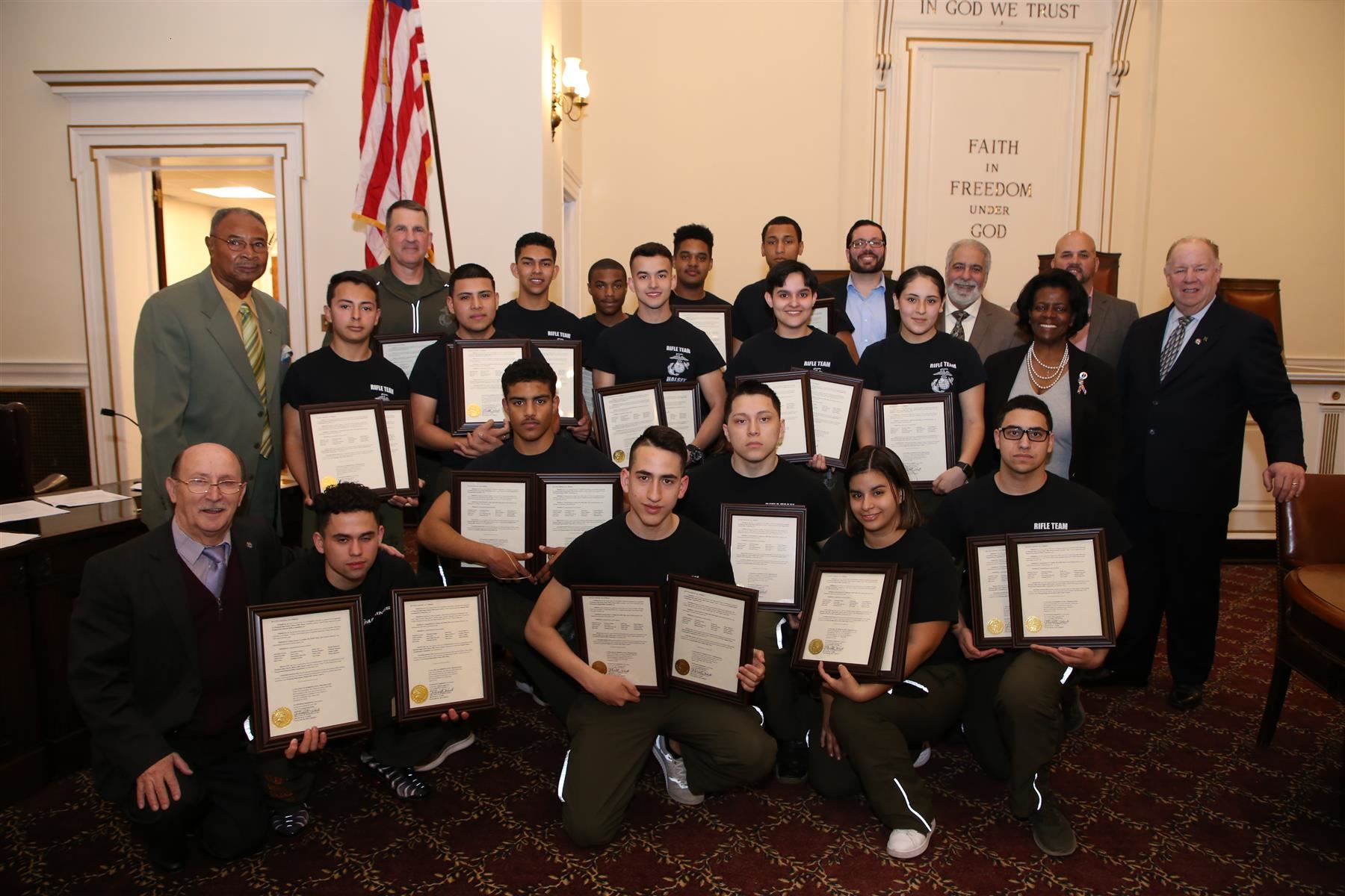 High School Teams Honored @ City Council Mtg