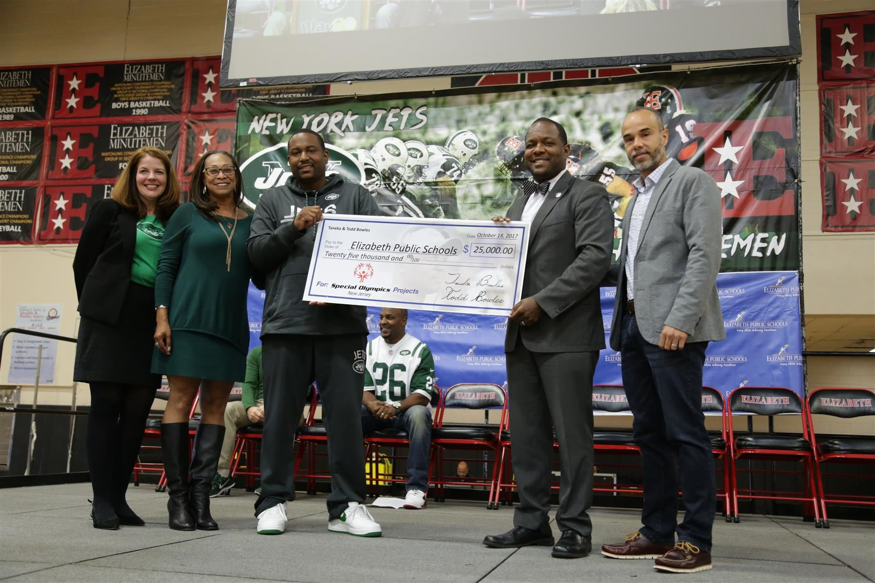 EPS Hosts Jets PLAY 60 Program Kickoff Event