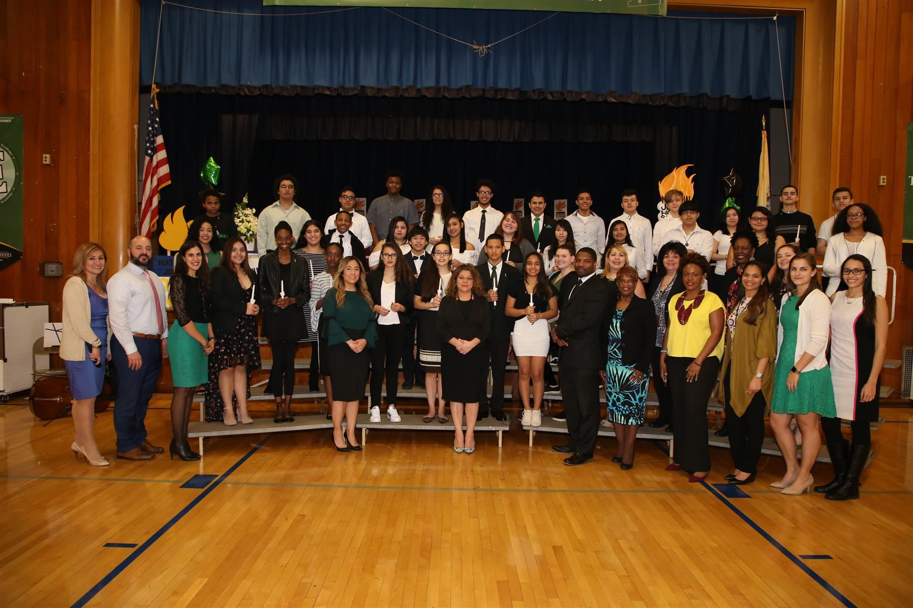 National Junior Honor Society Induction Ceremony @ Dwyer Annex
