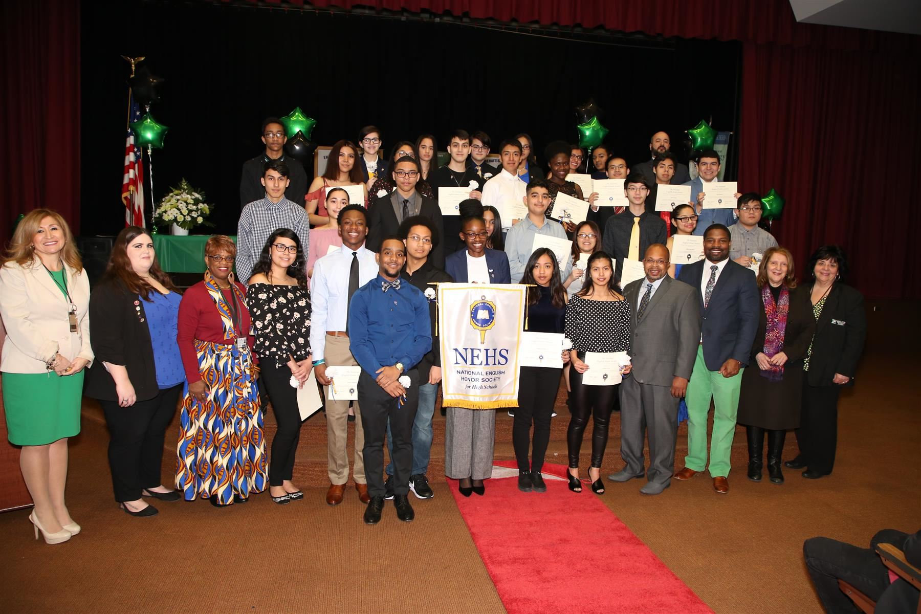 Dwyer Holds Honor Society Inductions