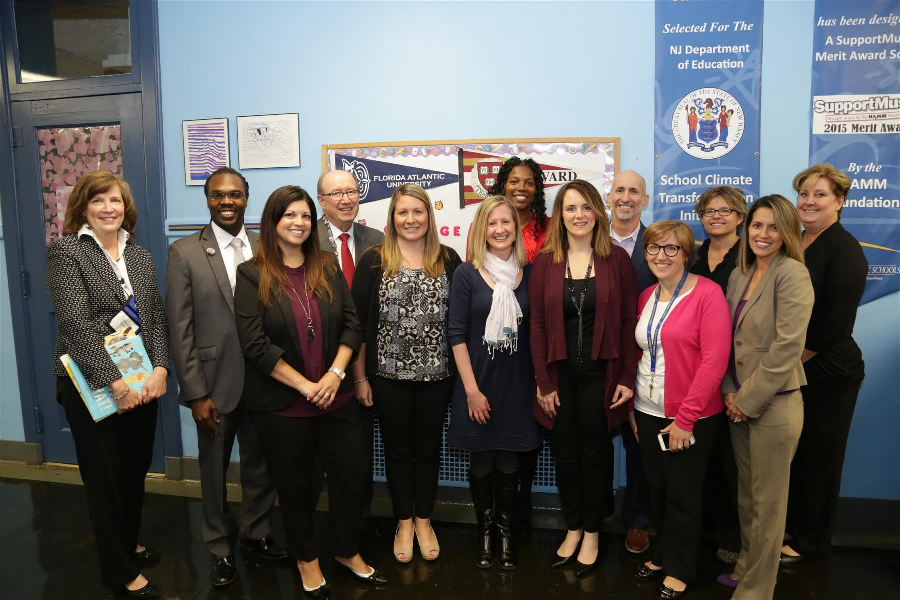 Education Commissioner Kimberley Harrington visited Winfield Scott School No. 2