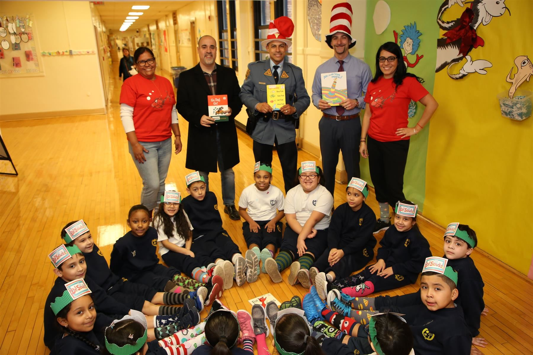 Read Across America @ School No.7