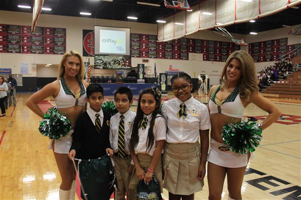 EPS Hosts Jets Play 60 Event @ Dunn Sports Center