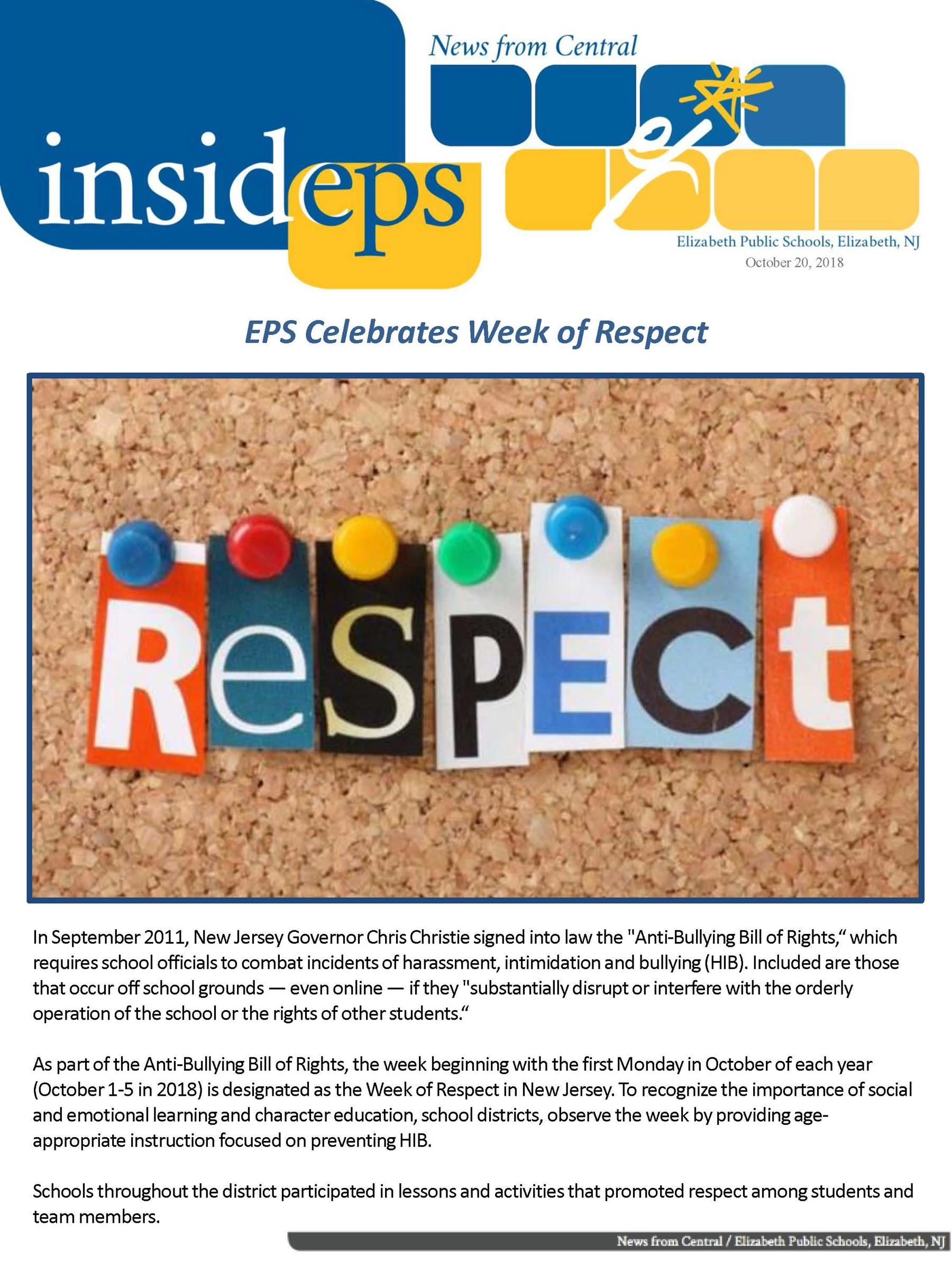 Inside EPS - October 2018
