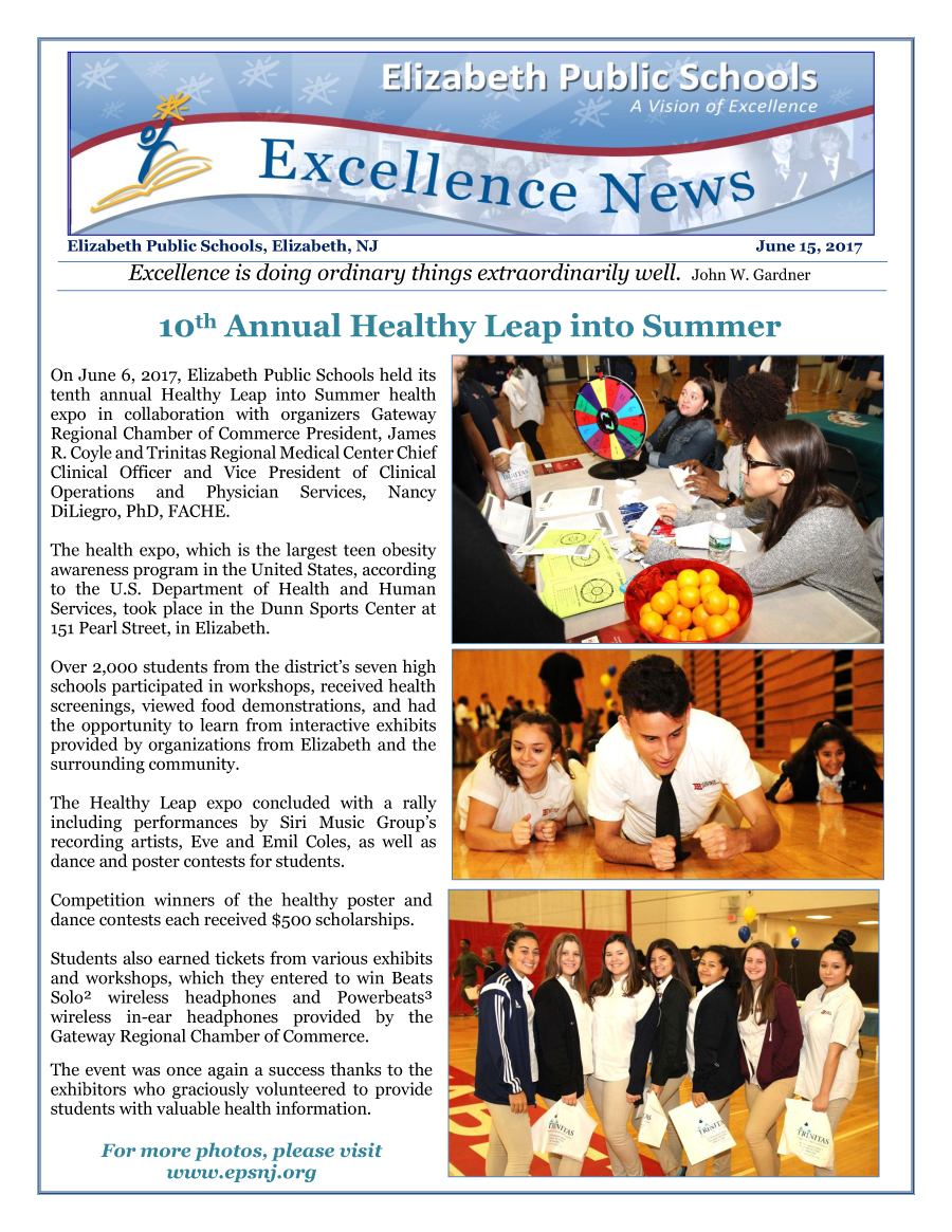 Excellence News June 2017
