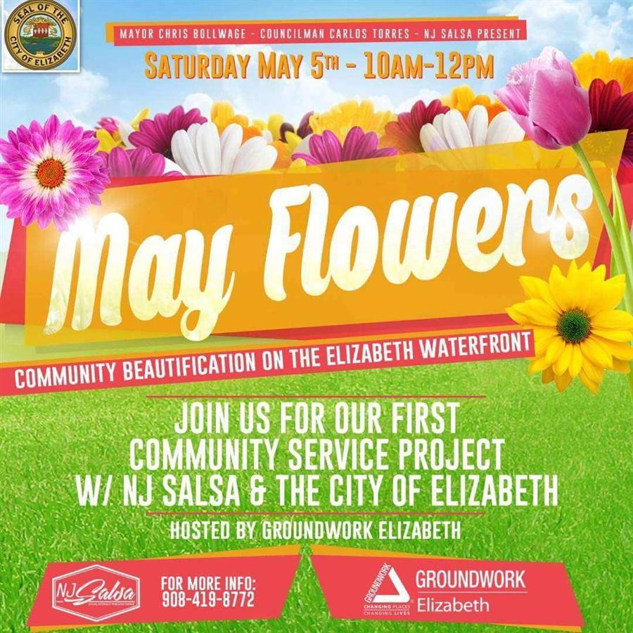 May Flowers – Community Beautification on the Elizabeth Waterfront