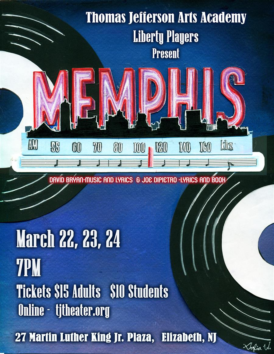 Jefferson Arts Acadmey Presents Memphis