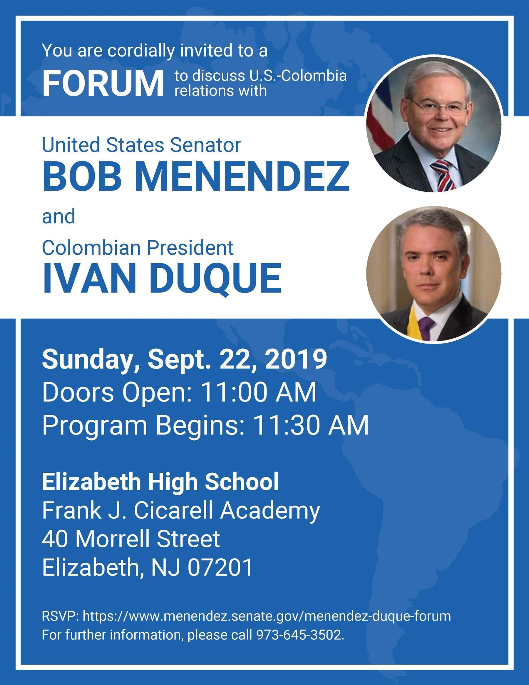 Menendez Duque Forum