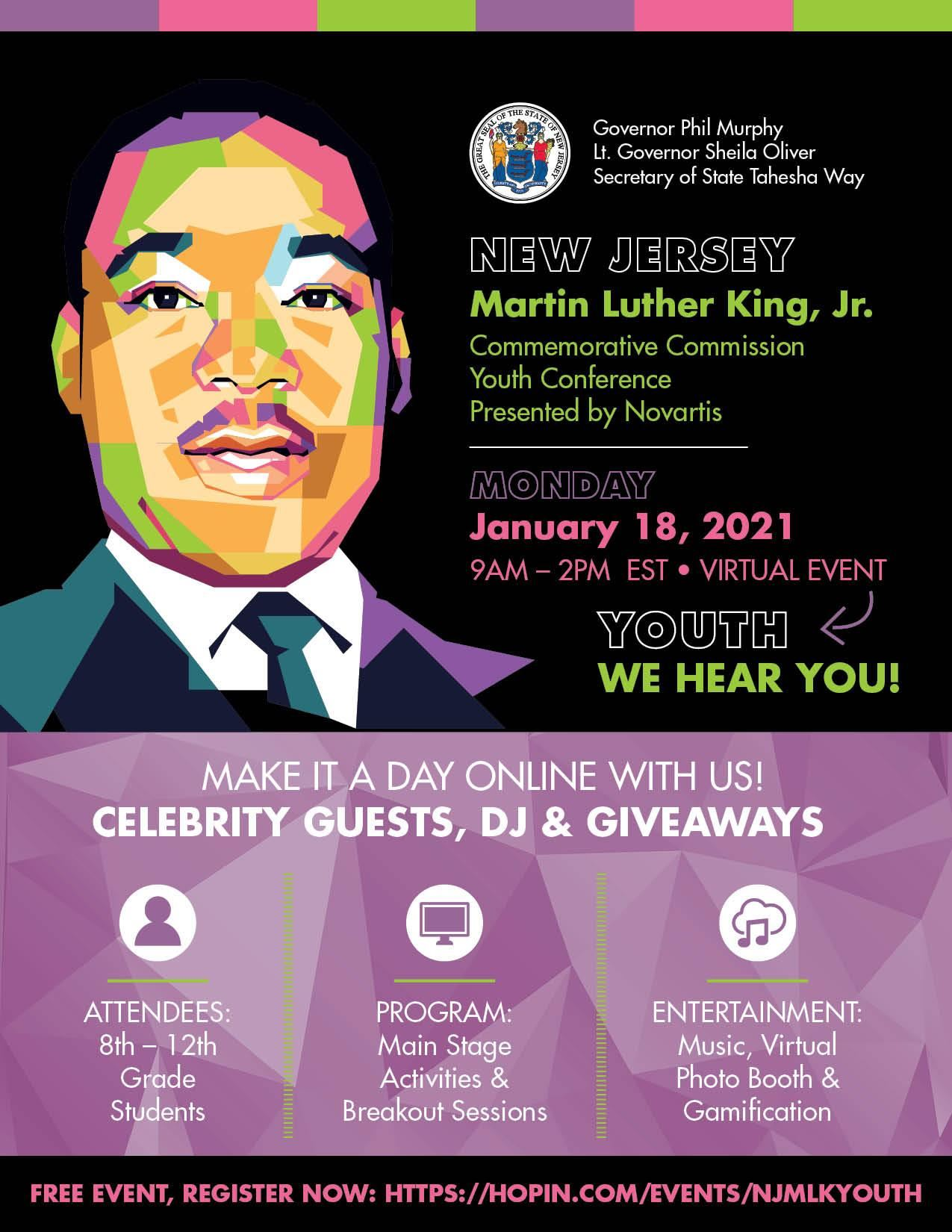 "MLK Youth Conference - ""Youth, We Hear You!"""