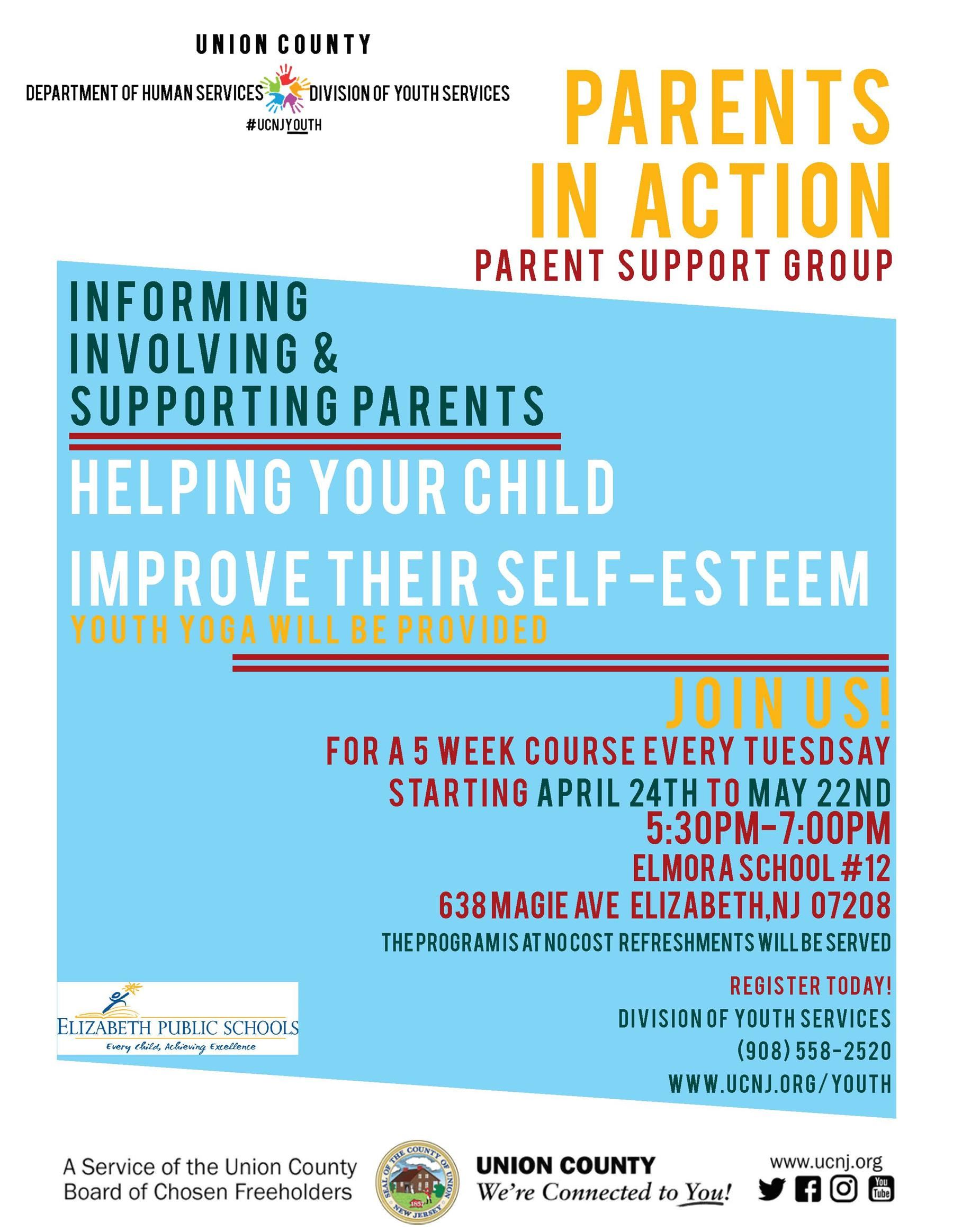 Parents in Action Support Group